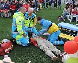 Prevenzione, defibrillatori: da 11 a 13 e più volontari