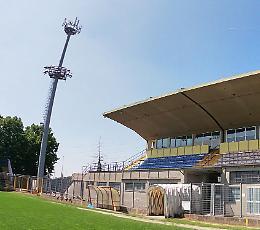 Stadio Voltini, nuova illuminazione: giovedì il via ai lavori