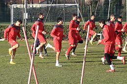 Cremonese, Gaetano si allena con i nuovi compagni