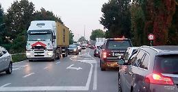 Incidente sulla Paullese, traffico in tilt