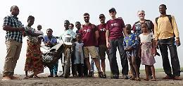 Moto per l'Africa, speranza per medici e malati