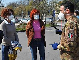 Coronavirus, Crema: il grazie dei soldati ai cremaschi