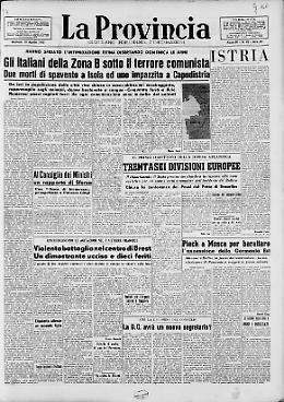 Gli italiani della Zona B sotto il terrore comunista
