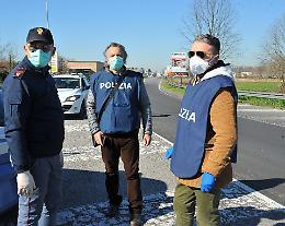 Coronavirus, la Polizia ogni giorno sul fronte