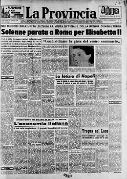 Solenne parata a Roma per Elisabetta II