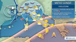 Dai forti temporali all'ondata di caldo stagionale