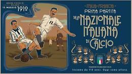 """Nazionale fa 110 anni, Mancini """"Simbolo Paese che sa rialzarsi"""""""