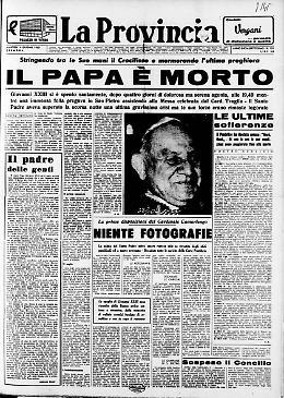 Il Papa è morto