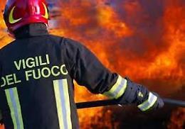 Incendio in un cascinale dell'Oltrepò Pavese