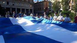 Vanoli, flash mob dei tifosi in piazza Marconi