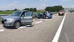 Tragico incidente in A21, due sorelle morte e un ferito grave