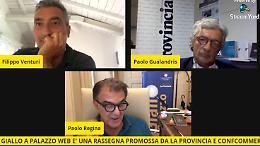 VIDEO Giallo a Palazzo web: l'incontro con Filippo Venturi
