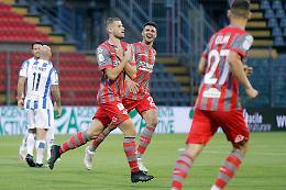 Cremonese, eurogol di Valzania: Pescara battuto 1-0