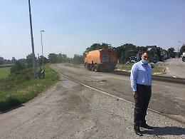 """Signoroni: """"Parte un primo lotto di oltre 800.000 euro per interventi sulla rete stradale provinciale"""""""