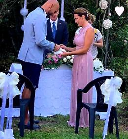 Simone Raineri ha sposato la sua Elena