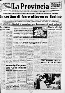 Nazismo Redivivo La cortina di ferro attraversa Berlino