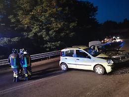 FOTO Le immagini dell'incidente sulla tangenziale di Piadena