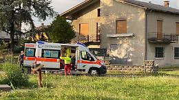 Ciclista 14enne urtato da un'auto, elisoccorso e ricovero