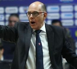 Pallacanestro Reggiana, Attilio Caja è il nuovo allenatore