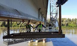 Ponte Verdi, lavori avanti per rispettare i programmi