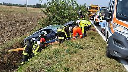 Esce di strada con l'auto, ferita 33enne di Agoiolo
