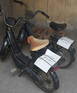 Ritrovato per strada Ciao rubato nel 1999