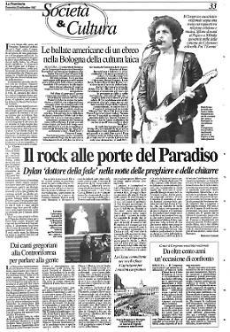 Il rock alle porte del Paradiso