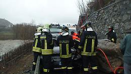 Maltempo: cade pianta, morto vigile fuoco volontario Valle d'Aosta