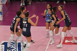 La E'più Casalmaggiore vince (3-0) e convince a Bergamo