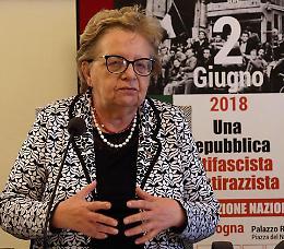 Addio alla  presidente dell'Anpi Carla Nespolo