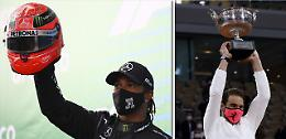 Hamilton-Schumi e Nadal-Federer già nella leggenda