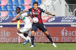 Calcio, anticipo Bologna-Sassuolo 3-4