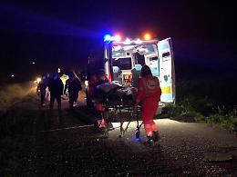 Cade con lo scooter, ferito un 58enne di Tornata