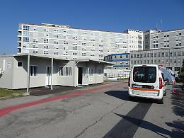 Nuovo triage all'Ospedale baluardo contro il Covid