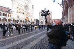 Cremona, la protesta dei commercianti a Pomeriggio Cinque