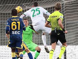 Serie A: il Sassuolo diventa capolista