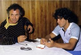 Il ricordo di Italo Cucci: 'Ciao Diego amico ritrovato, mi hai preso in contropiede'