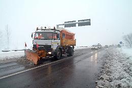 Piano neve 2020-21: mezzi pronti ed interventi preventivi sul territorio