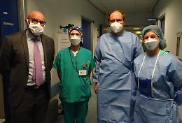 Terapia intensiva, primo giorno per il primario Enrico Storti
