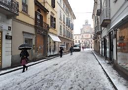 Piano neve, pronta la task force di mezzi e spalatori