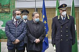 Il comandante Sforza premiato da Fontana e De Corato