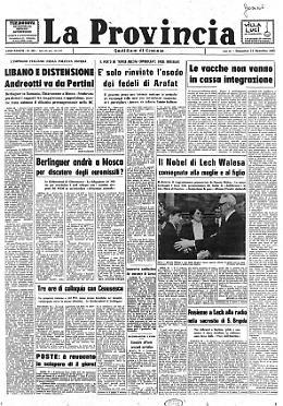 Nobel a Lech Walesa