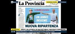 FOTO Il calendario di Fondazione Sospiro su Rai News 24 con il direttore Marco Bencivenga