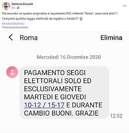 """""""Pagamento seggi elettorali"""",  sms inquietante in arrivo in questi giorni"""
