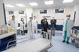 Ospedale di Cremona, presentato il Pronto soccorso Covid