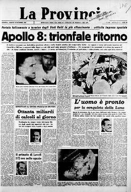 Apollo 8: trionfale ritorno