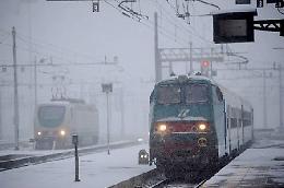 Ghiaccio, treni cancellati sulla Cremona-Fidenza