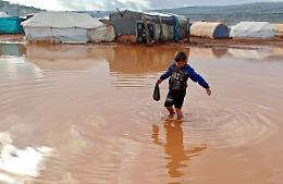 Nicolò Govoni:  la nostra scuola in Siria è sott'acqua