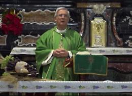 La Messa celebrata dal vescovo in diretta
