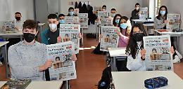 Il 'Quotidiano in classe' all'istituto Stanga